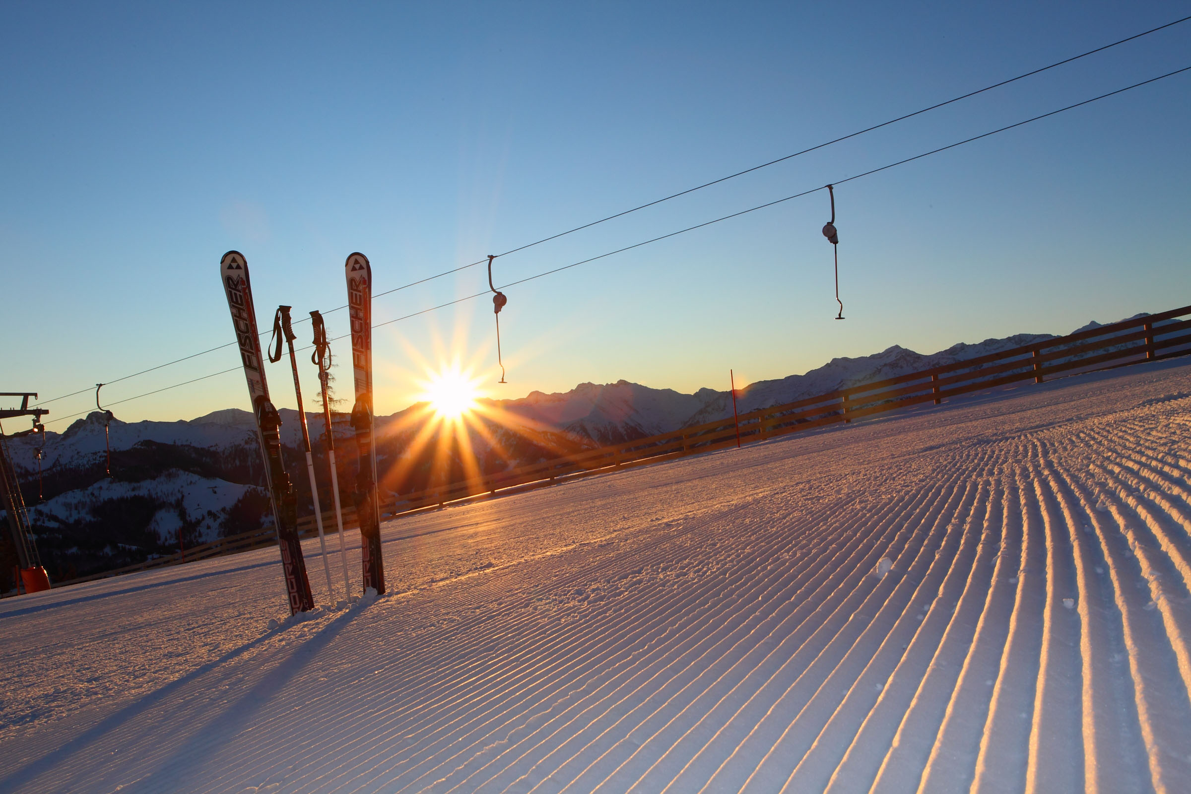 ferienhaus-grabenhaeusl-sonnenaufgang-grossarltal-skigebiet